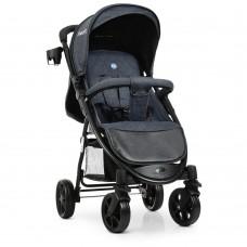 Прогулочная детская коляска El Camino M 3409L FAVORIT Dark Gray, темно-серый