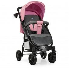 Прогулочная детская коляска El Camino M 3409L FAVORIT Pale Pink, розовый