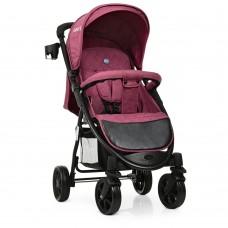 Прогулочная детская коляска El Camino M 3409L FAVORIT Purple, пурпурный