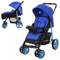 Прогулочная коляска El Camino M 3444-4 Next Blue, синий