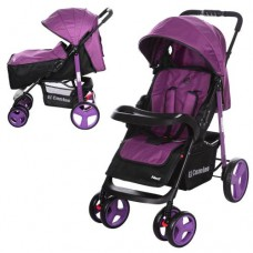 Прогулочная коляска El Camino M 3444-9-2 Next, фиолетовый
