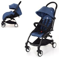Детская прогулочная коляска Bambi M 3548-1 YOGA, синий