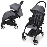 Детская прогулочная коляска Bambi M 3548-11 YOGA, серый