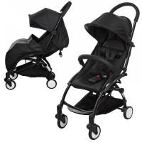 Детская прогулочная коляска Bambi M 3548-2 YOGA, черный