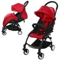Детская прогулочная коляска Bambi M 3548-3 YOGA, красный