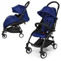 Детская прогулочная коляска Bambi M 3548-4 YOGA, синий