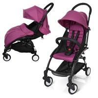 Детская прогулочная коляска Bambi M 3548-9-2 YOGA, фиолетовый