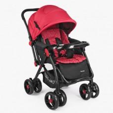 Детская прогулочная коляска Bambi M 3655-3, красный