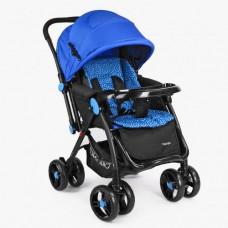 Детская прогулочная коляска Bambi M 3655-4, синий