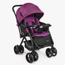 Детская прогулочная коляска Bambi M 3655-9, фиолетовый