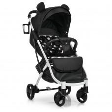 Прогулочная коляска El Camino M 3910-2 Yoga II Black, черный горох