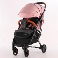 Прогулочная коляска El Camino M 3910 YOGA II Pale Pink, розовый