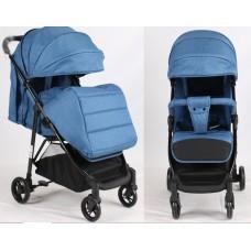 Прогулочная детская коляска Bambi M 4249 Blue, синий