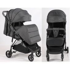 Прогулочная детская коляска Bambi M 4249 Dark Gray, темно-серый