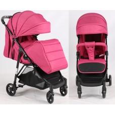 Прогулочная детская коляска Bambi M 4249 Pink, розовый