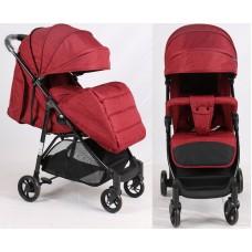 Прогулочная детская коляска Bambi M 4249 Red, красный