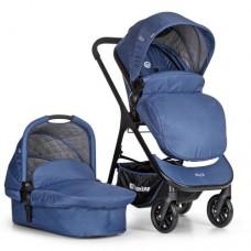 Универсальная коляска 2 в 1 El Camino ME 1014-4 EVE, синий