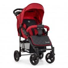 Детская прогулочная коляска El Camino ME 1015L AMULET Deep Red, красный