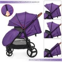Прогулочная коляска El Camino ME 1024L X4 Violet, фиолетовый
