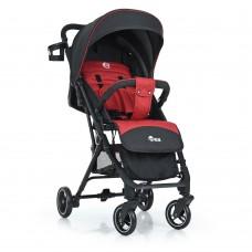 Детская прогулочная коляска El Camino ME 1039L IDEA Crimson Gray, красно-серый