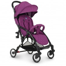 Прогулочная коляска El Camino ME 1058 Wish Purple, лен, фиолетовый