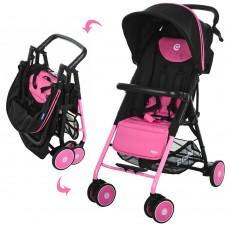 Прогулочная коляска El Camino M 3294-8 Pilot Pink, розовый