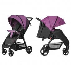 Прогулочная коляска Carrello CRL-1414/1 Maestro Purple Iris, лен, фиолетовый