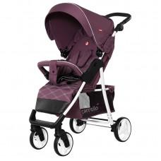 Прогулочная коляска Carrello CRL-8502/2 Quattro Lilac Purple, лен, фиолетовый