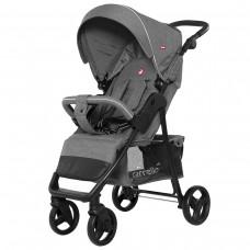 Прогулочная коляска Carrello CRL-8502/2 Quattro Shark Grey, лен, серый
