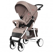 Прогулочная коляска Carrello CRL-8502/2 Quattro Silk Beige, лен, бежевый