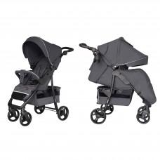 Прогулочная коляска Carrello CRL-8502/3 Quattro Shadow Grey, темно-серый