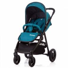Прогулочная коляска Carrello CRL-1416 Sonata Emerald Blue, синий