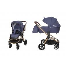 Универсальная коляска 2 в 1 Carrello CRL-8509/1 Epica Midnight Blue, синий