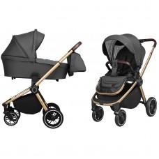 Универсальная коляска 2 в 1 Carrello CRL-8510 Epica Iron Grey, серый
