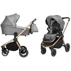 Универсальная коляска 2 в 1 Carrello CRL-8510 Epica Silver Grey, серый