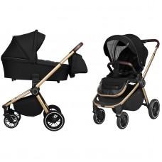 Универсальная коляска 2 в 1 Carrello CRL-8510 Epica Space Black, черный