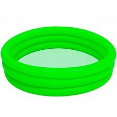 Надувной бассейн детский Bestway 51137, зеленый