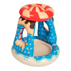 Надувной бассейн детский Bestway 52270 Конфета, 91 х 89 см, синий