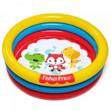 Надувной бассейн детский Bestway 93501 Лисенок, 91 х 25 см, разноцветный