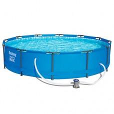 Каркасный бассейн Bestway 56416, 366 х 76 см, голубой
