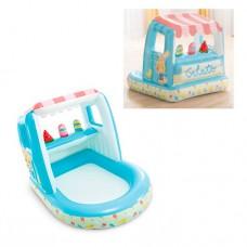 Надувной бассейн детский Intex 48672 Лавка мороженого, 127 х 102 х 99 см