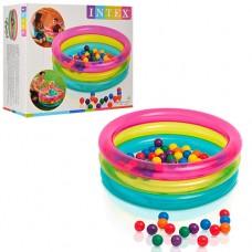Надувной бассейн детский Intex 48674, 86 х 25 см