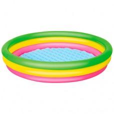 Надувной бассейн детский Bestway 51103, 152 х 30 см, разноцветный