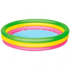 Надувной бассейн детский Bestway 51104, 102 х 25 см, разноцветный