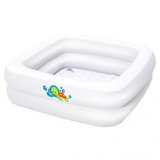 Надувной бассейн детский Bestway 51116, 86 х 25 см, белый