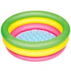 Надувной бассейн детский Bestway 51128, 70 х 24 см, разноцветный