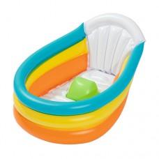 Надувной бассейн детский Bestway 51134, 76 х 48 х 33 см, разноцветный