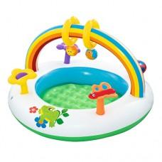 Надувной бассейн детский Bestway 52239, 91 х 56 см, разноцветный
