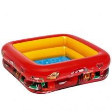 Надувной бассейн детский Intex 57101 Тачки, 85 х 23 см, желто-красный