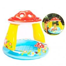 Надувной бассейн детский Intex 57114 Грибочек, 102 х 89 см